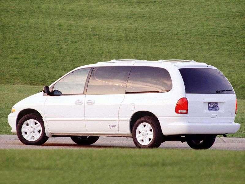 Dodge Caravan 3rd generation Grand minivan 5 doors 3.8 AT 4WD (1995–2001)