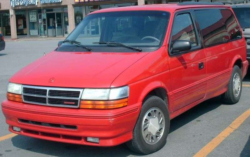Dodge Caravan 2nd generation minivan 2.5 MT (1990–1995)