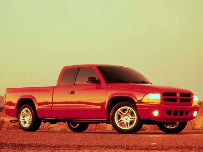 Dodge Dakota 1st generation pickup 4.7 MT AWD (1996–2005)