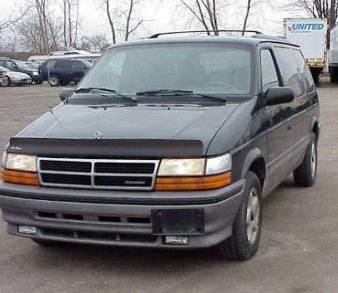 Dodge Caravan 2nd generation minivan 3.0 MT (1990–1995)