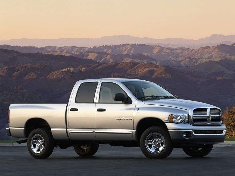 Dodge Ram 3 generation pickup 4.7 MT (2002–2008)