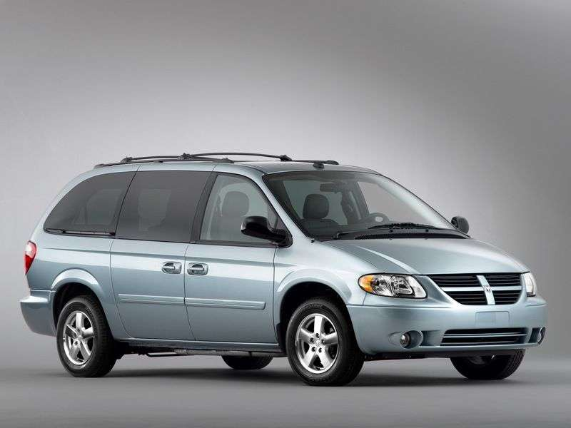 Dodge Caravan 4th generation Grand 5 door minivan 3.8 AT AWD (2001 – present)
