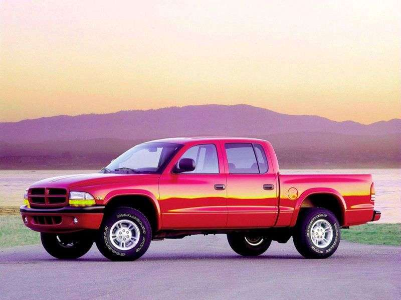 Dodge Dakota 2nd generation pickup 3.9 MT AWD (1998–2003)