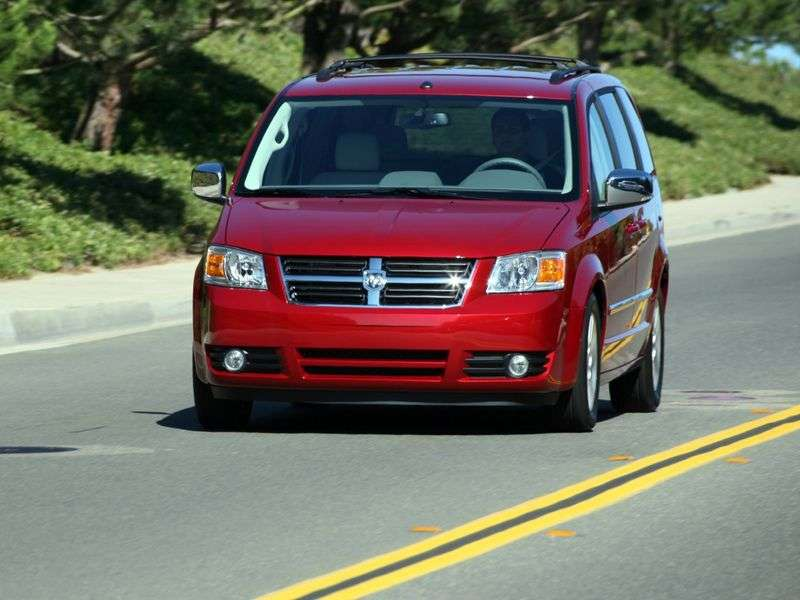 Dodge Caravan 5th generation Grand 3.8 AT minivan (2007 – n.)