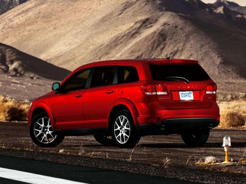 Dodge Journey 1st generation [restyled] crossover 3.6 AT R / T (2011 – n.)