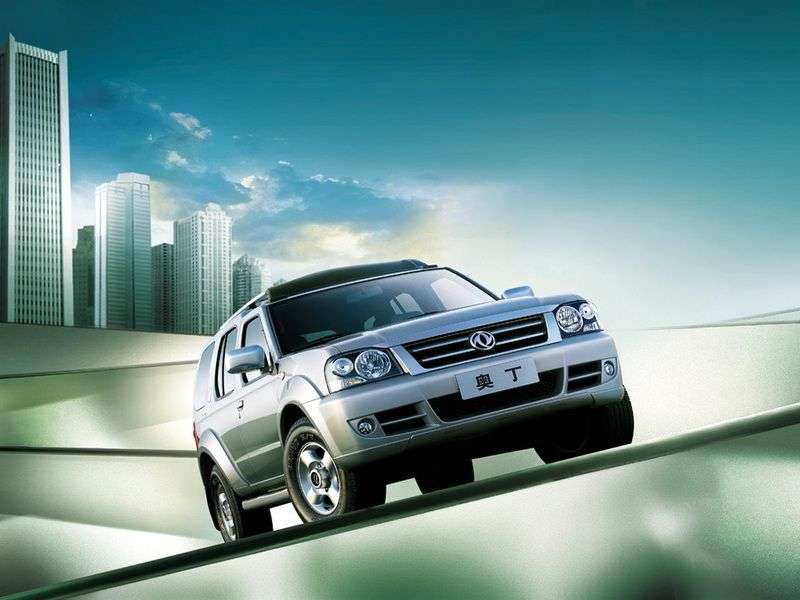 Dong Feng Oting 1st generation SUV 2.5 TD MT 4x4 (2007 – n.)