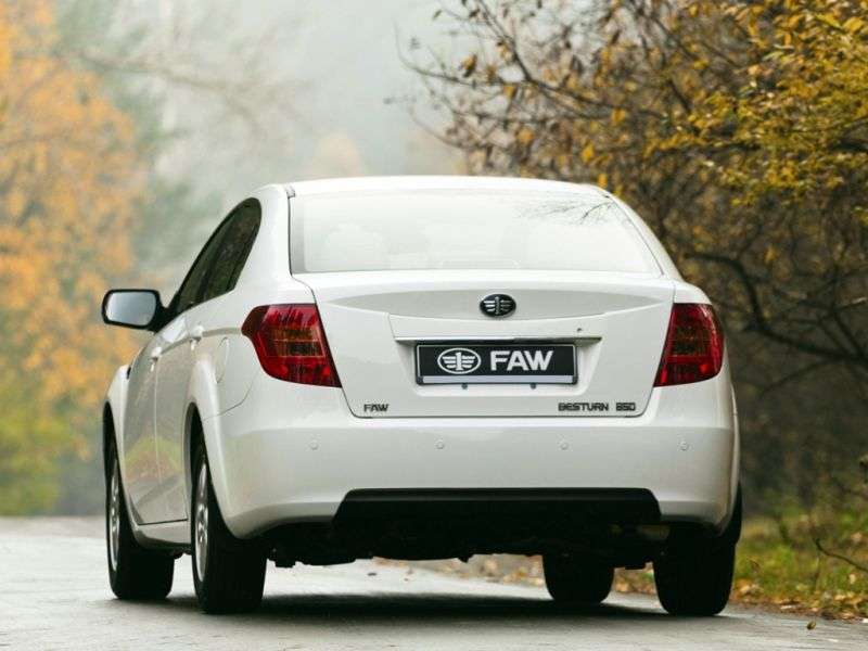 FAW Besturn B50 1st generation [restyling] 1.6 AT Deluxe Sedan (2011 – n.)