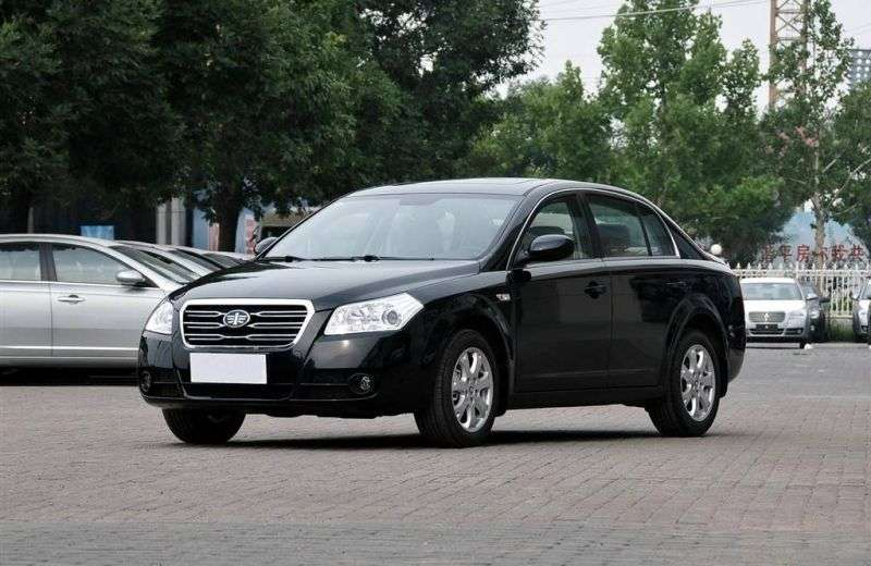 FAW Besturn B70 1st generation [2nd restyling] 2.0 MT sedan (2009–2012)