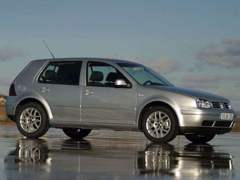 FAW Volkswagen City Golf 1st generation hatchback 1.6 MT (1995–2000)