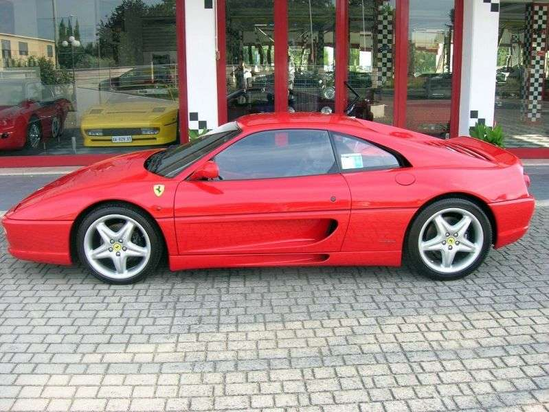Ferrari F355 1st generation Berlinetta Coupe 3.5 MT (1994–1999)