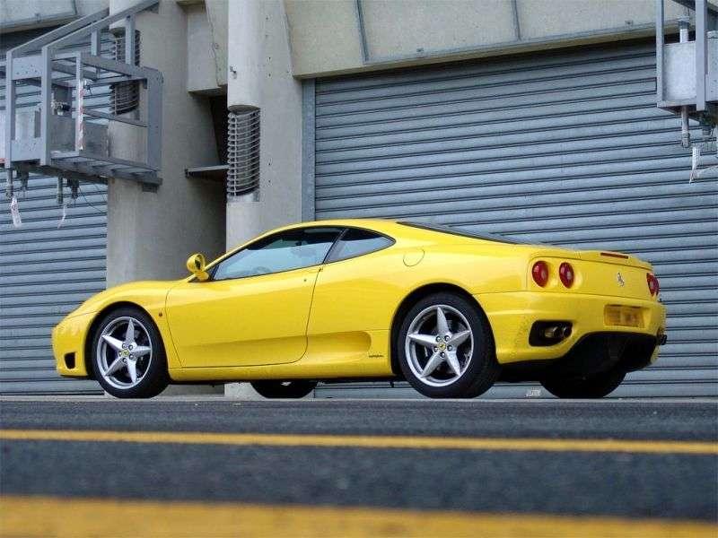 Ferrari 360 1st generation Modena coupe 3.6 MT F1 (1999–2004)