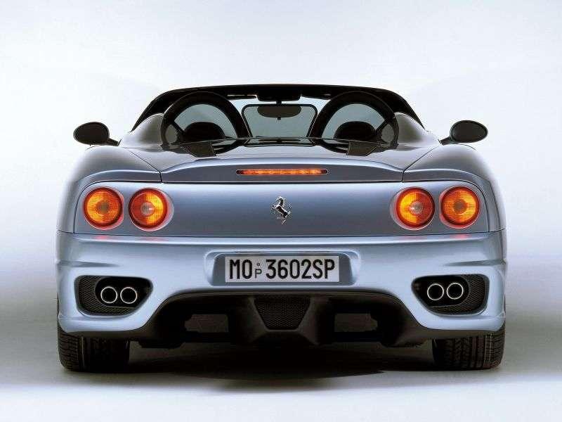 Ferrari 360 1st generation Spider roadster 3.6 MT (2000–2004)