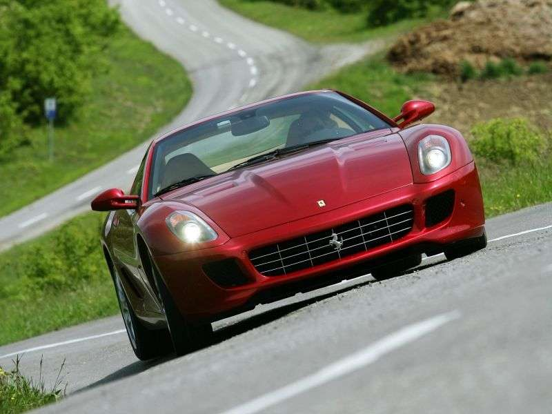 Ferrari 599 1st generation GTB Fiorano coupe 2 bit. 6.0 AMT Basic (2006–2012)