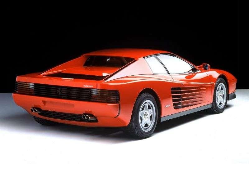 Ferrari Testarossa 1st generation coupe 4.9 MT (1984–1991)