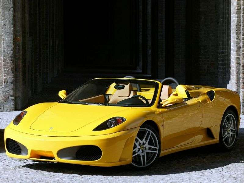 Ferrari F430 1st generation Spider roadster 4.3 MT (2005–2009)