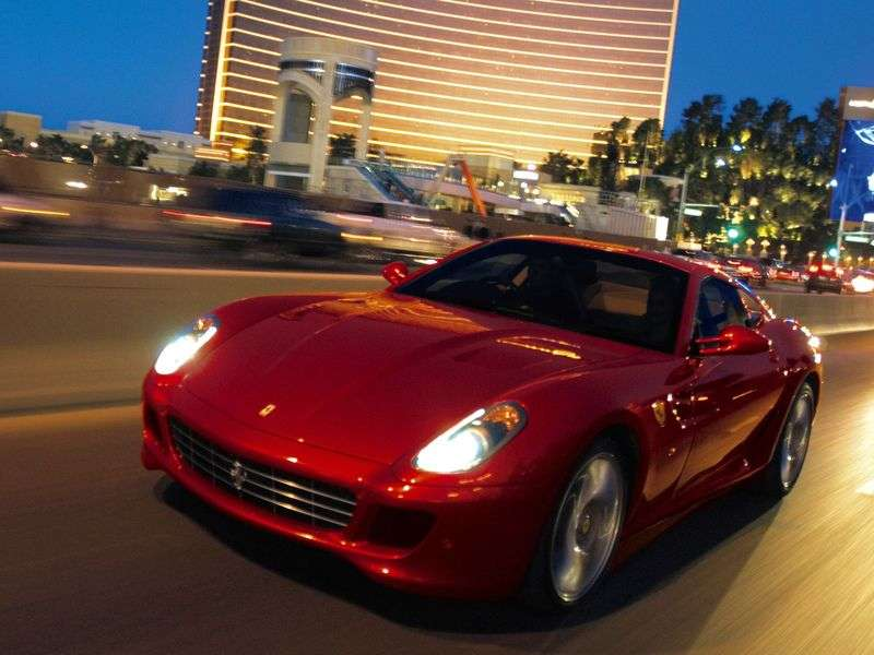 Ferrari 599 1st generation GTB Fiorano coupe 2 bit. 6.0 MT Basic (2006–2012)
