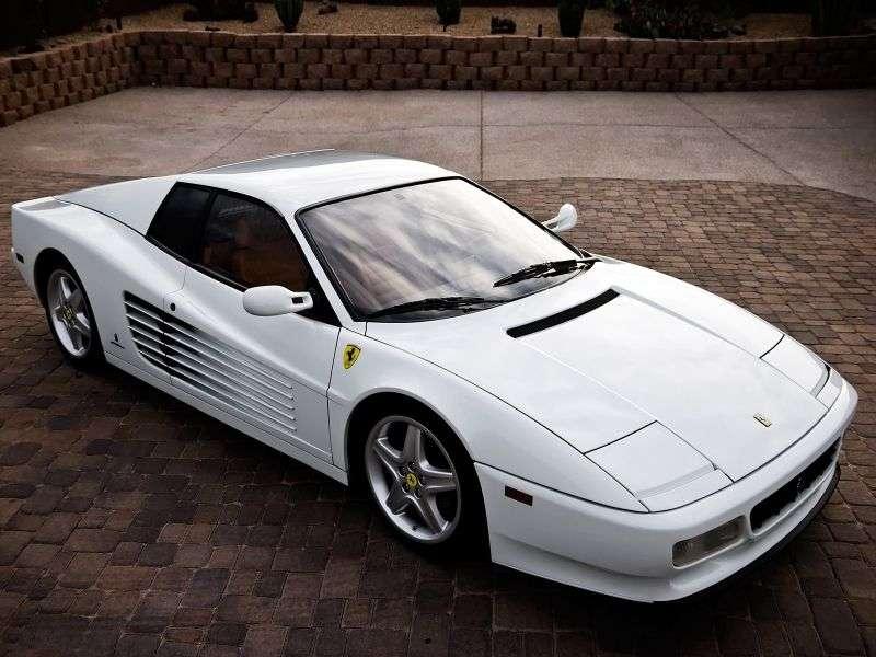 Ferrari Testarossa 512 TR Coupe 4.9 MT (1991–1994)