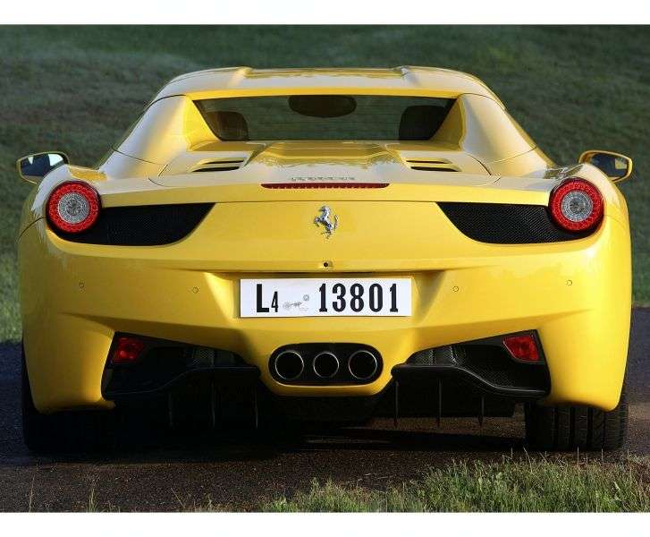 Ferrari 458 1st generation Spider Convertible 4.5 AMT Basic (2009 – present)