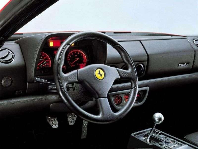 Ferrari Testarossa F512 Coupé 4.9 MT (1994–1996)