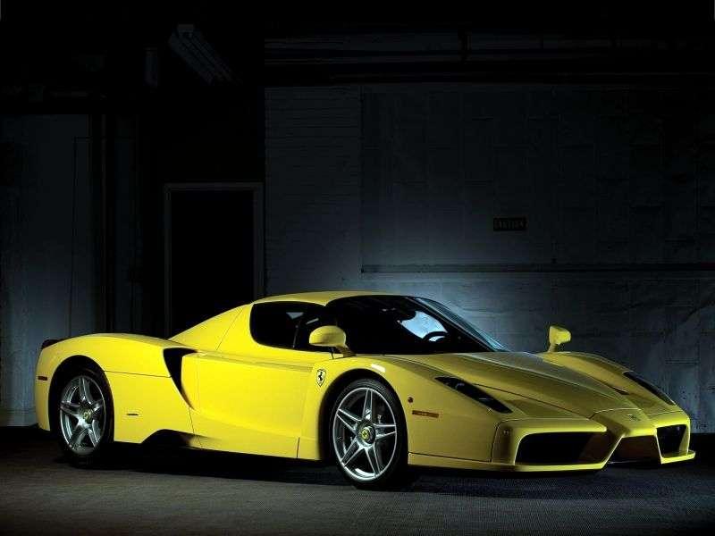 Ferrari Enzo 1st generation coupe 6.0 MT (2002–2004)