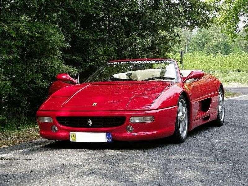 Ferrari F355 1st Generation Spider 3.5 MT Convertible (1995–1999)