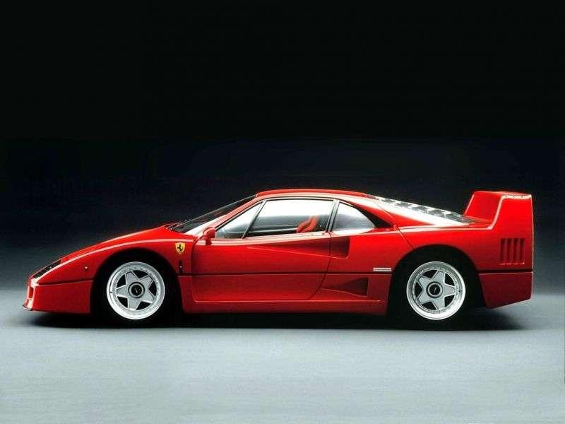 Ferrari F40 1st generation coupe 2.9 MT (1987–1992)