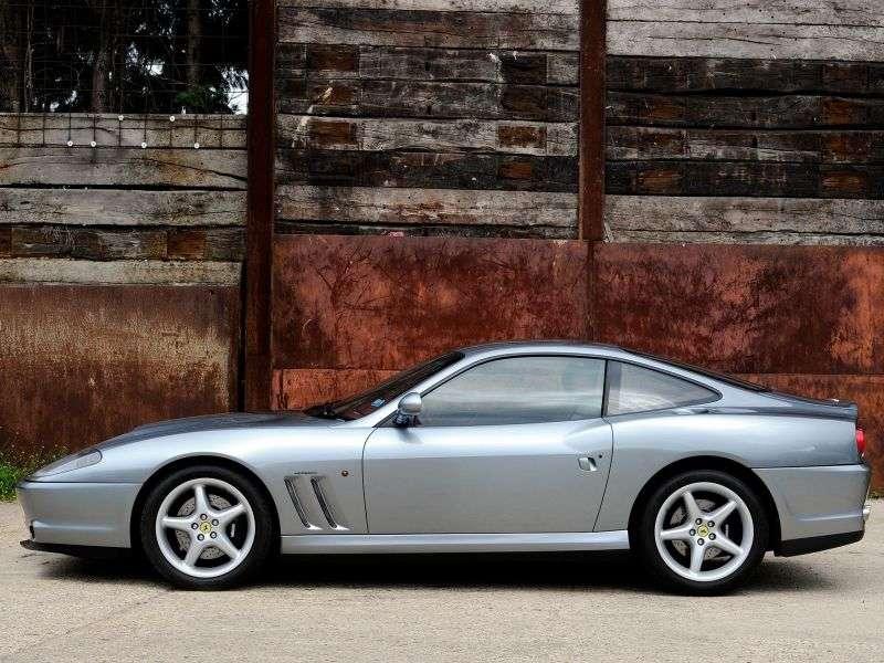 Ferrari 550 1st generation Maranello coupe 5.5 MT (1996–2002)
