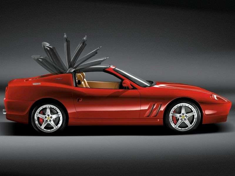 Ferrari 575 1st generation Superamerica 5.7 MT convertible (2005–2006)