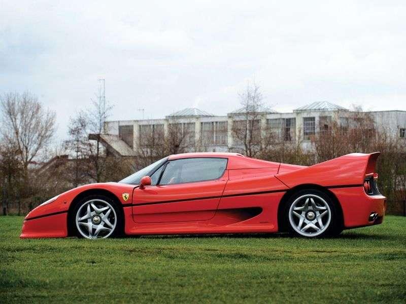 Ferrari F50 1st generation coupe 4.7 MT (1995–1997)