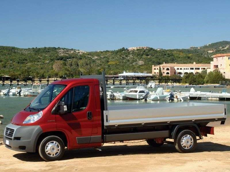 Fiat Ducato 3 generation Single Cab chassis 2 dv. 2.3 TD MT XLWB H1 35 Basic (2013) (2012 – present)