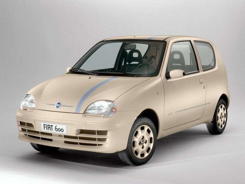 Fiat 600 2nd generation hatchback 1.1 MT (2005–2010)