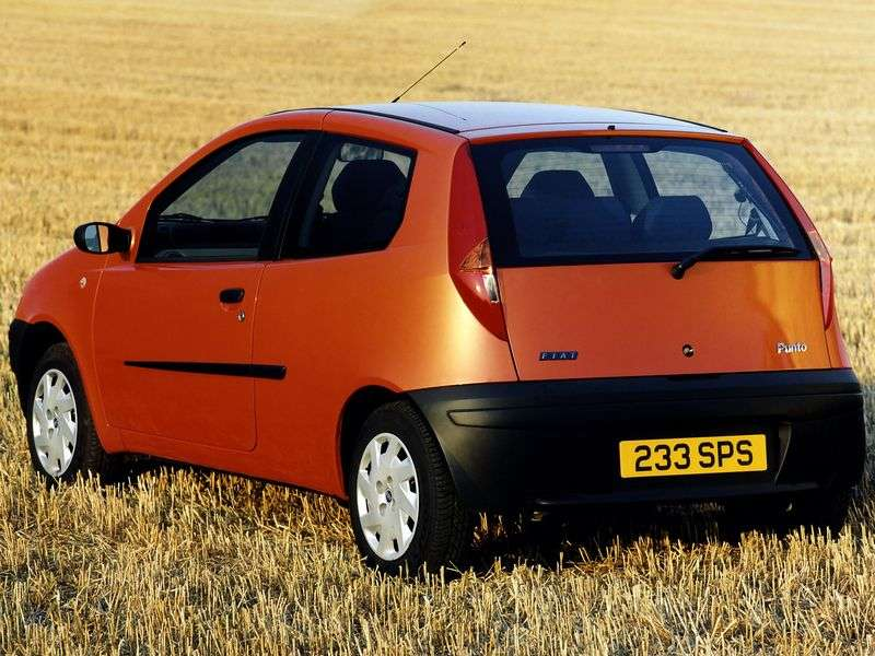 Fiat Punto 2 generation hatchback 1.8 MT (1999–2003)