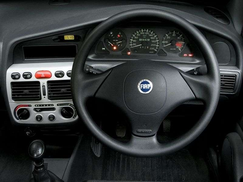 Fiat Siena 1st generation [2nd restyling] 1.0 MT sedan (2004–2007)