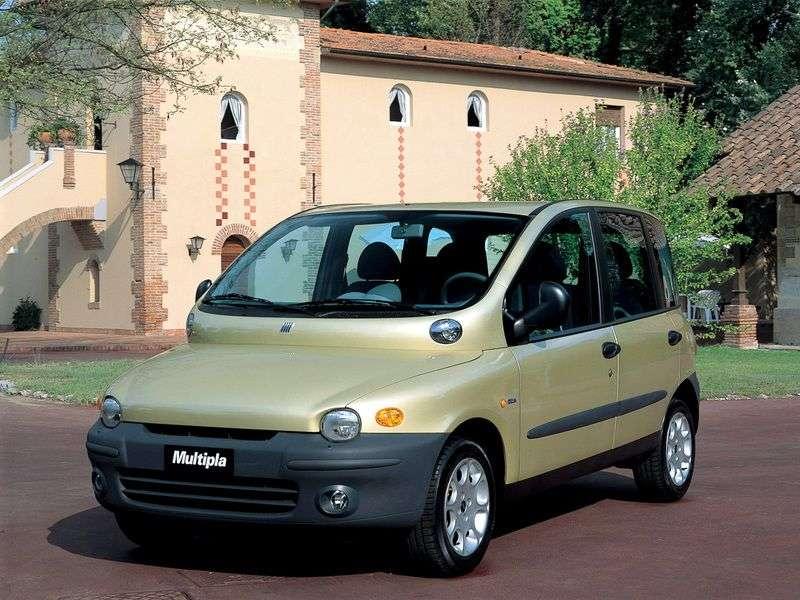 Fiat Multipla 1st generation minivan 1.9 TD MT (2002–2004)