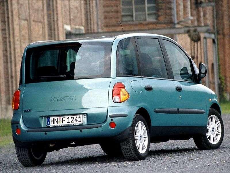 Fiat Multipla 1st generation minivan 1.9 TD MT (2000–2002)