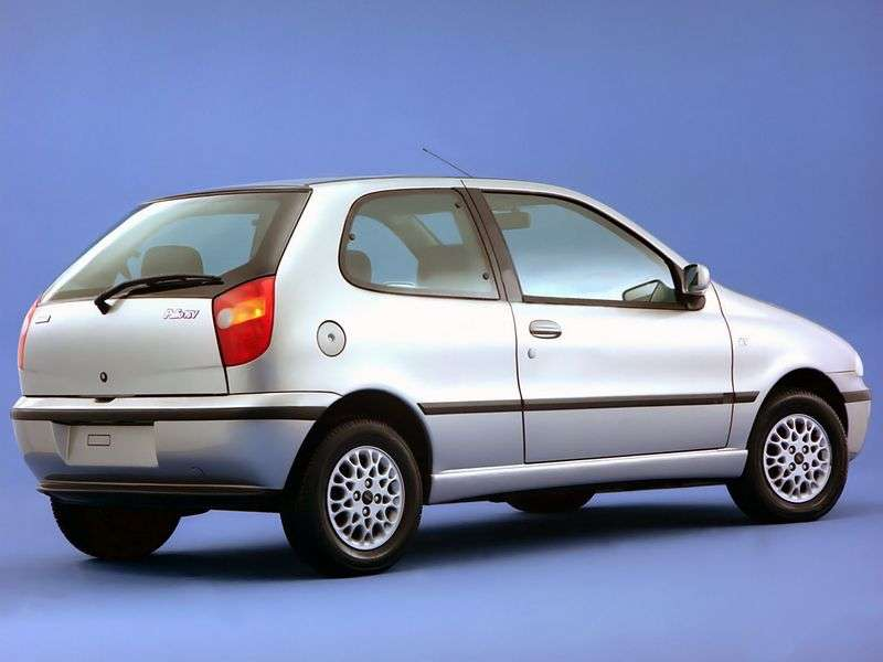 Fiat Palio 1st generation 1.2 MT hatchback (1996–2004)