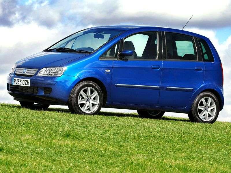 Fiat Idea 1st generation 1.4 AT minivan (2003 – n.)