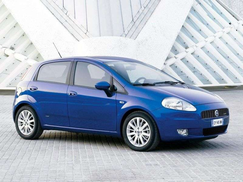 Fiat Punto 3rd generation Grande Punto hatchback 5 dv. 1.4 MT Active (2005–2012)