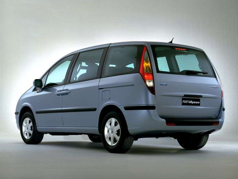 Fiat Ulysse 2nd generation minivan 2.0 MT (2002–2010)