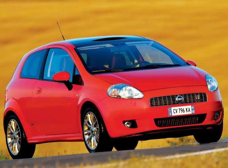 Fiat Punto 3rd generation Grande Punto 3 dv hatchback 1.4 MT Active (2005–2012)
