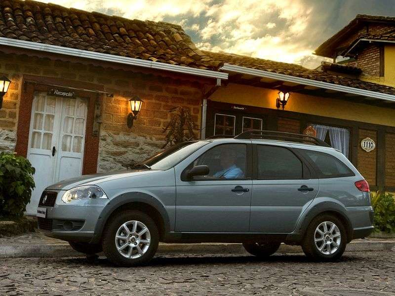 Fiat Palio 2nd generation wagon 1.9 D MT (2009 – n.)
