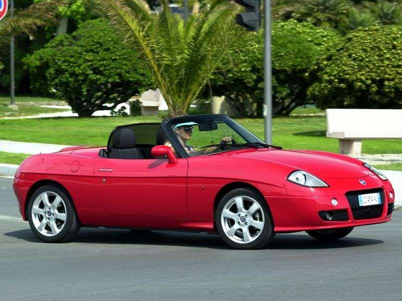 Fiat Barchetta 1st generation 1.8 MT convertible (1995–2005)