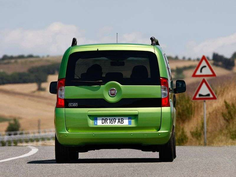 Fiat Fiorino 3rd generation Qubo 5 door minivan 1.4 AT (2008–2010)
