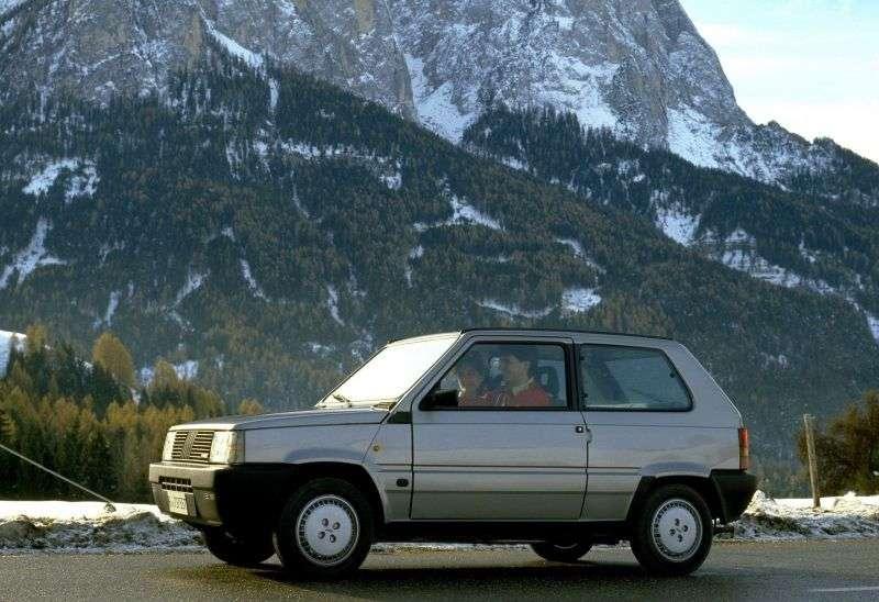 Fiat Panda 1st generation [restyled] hatchback 1.0 MT (1986–2002)
