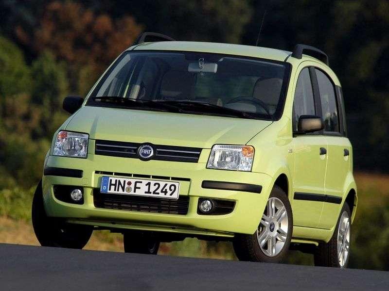 Fiat Panda 2 generation hatchback 5 dv. 1.1 MT Active (2003–2011)