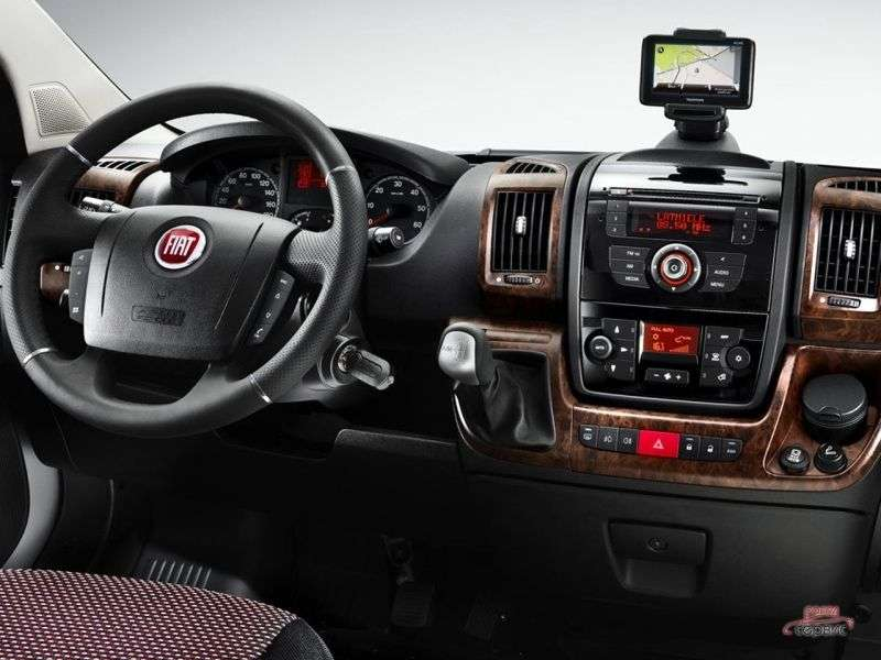 Fiat Ducato 3rd generation Double Cab chassis 4 bit. 2.3 TD MT L3H1 Basic (2013) (2012 – present)