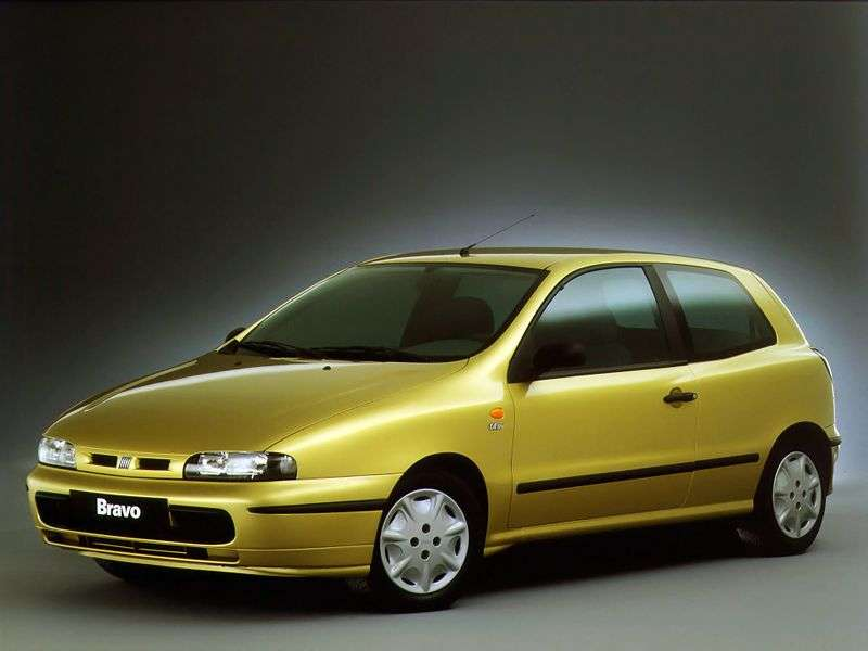 Fiat Bravo 1st generation hatchback 3 dv. 1.9 D MT (1996–2001)