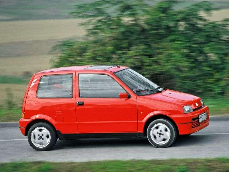 Fiat Cinquecento 1st generation hatchback 0.7 MT (1991–1998)