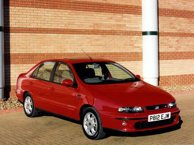 Fiat Marea 1st generation 1.9 TD MT sedan (1999–2000)