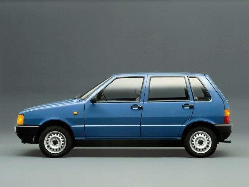 Fiat UNO 1st generation hatchback 5 dv. 1.9 D MT (1989–1994)